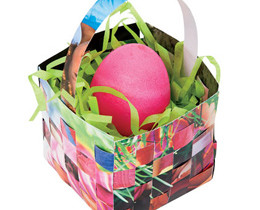 Creating Easter Baskets